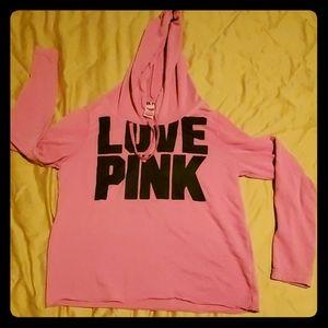 Victoria's secret pink, pink hoodie!
